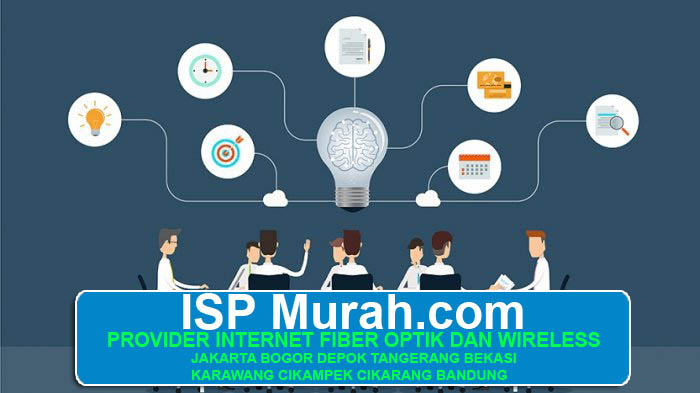 PROVIDER INTERNET ISP MURAH CEPAT DEDICATED CORPORATE UNTUK KANTOR