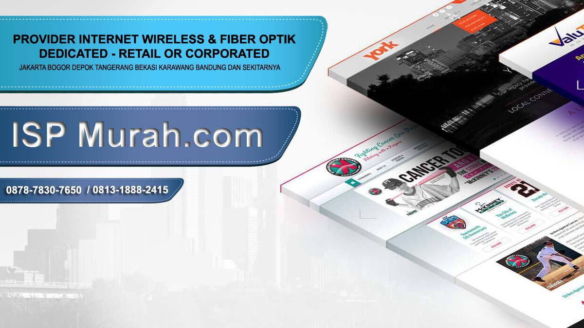 ISP Bandung untuk internet dedicated corporate retail