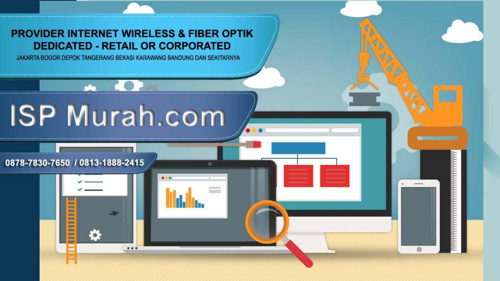 ISP Bekasi dedicated corporate terbaik stabil