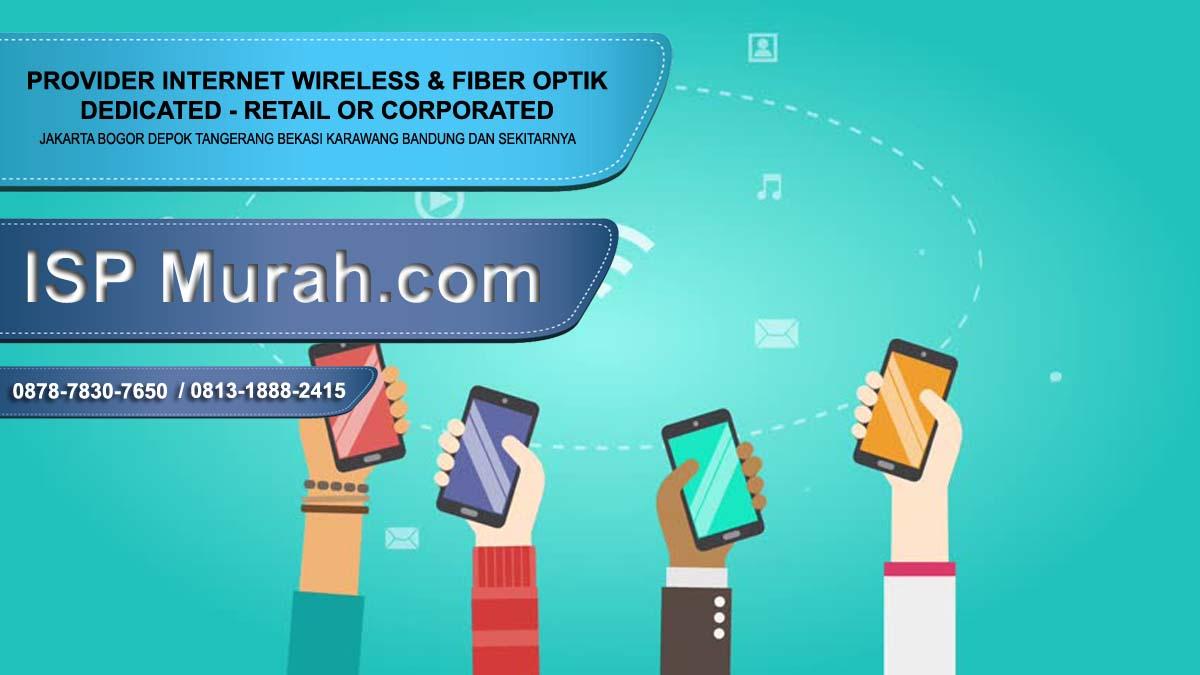 ISP Bekasi dedicated corporate terbaik stabil 2