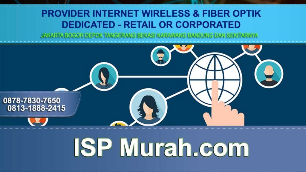 Jenis Internet Service Provider atau ISP