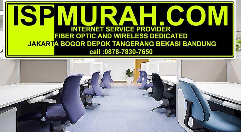 Provider Internet Dedicated untuk kebutuhan kantor, bisnis hosting, SOHO dan lainnya di jakarta