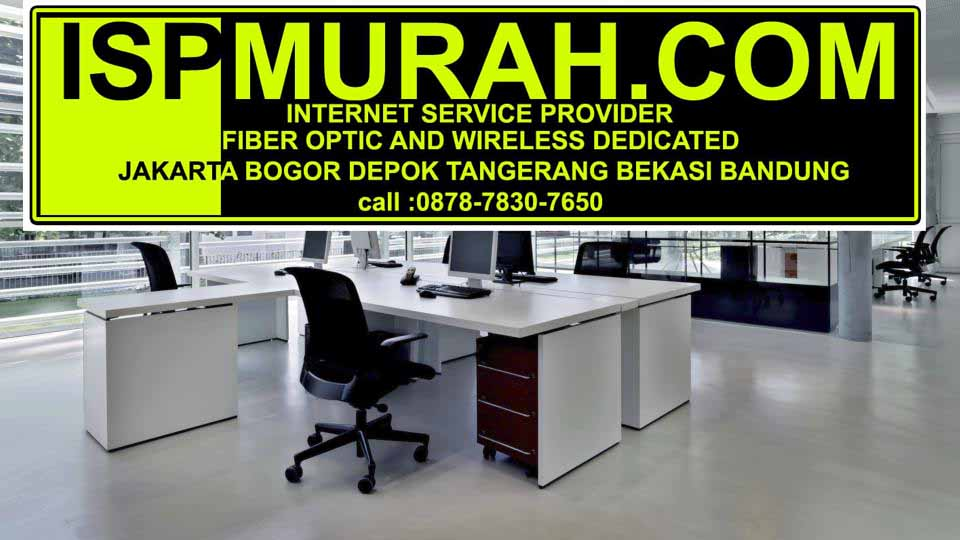 layanan ISP Murah fiber optik & wireless dedicated corporate